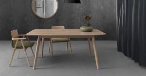 azores modern dining table by wewood