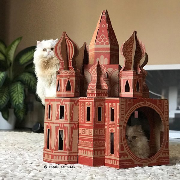 Taj Mahal Cat Palace (and other great cat houses)