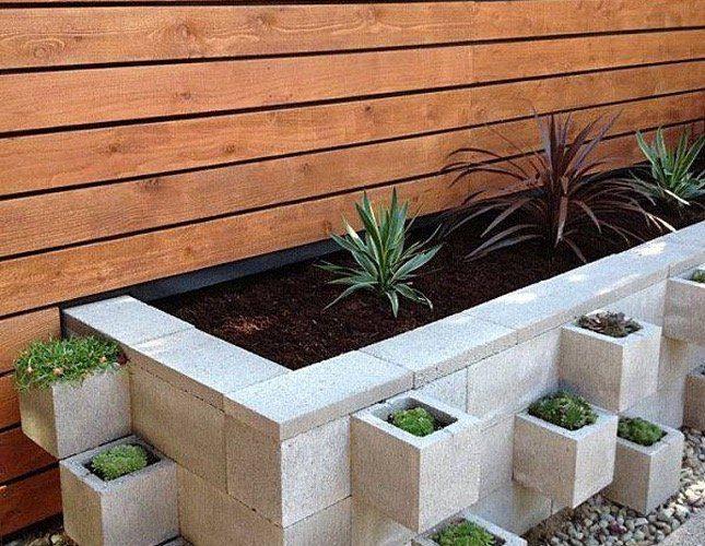 Modern Cinder Block Planter Ideas Best Of Modern Design
