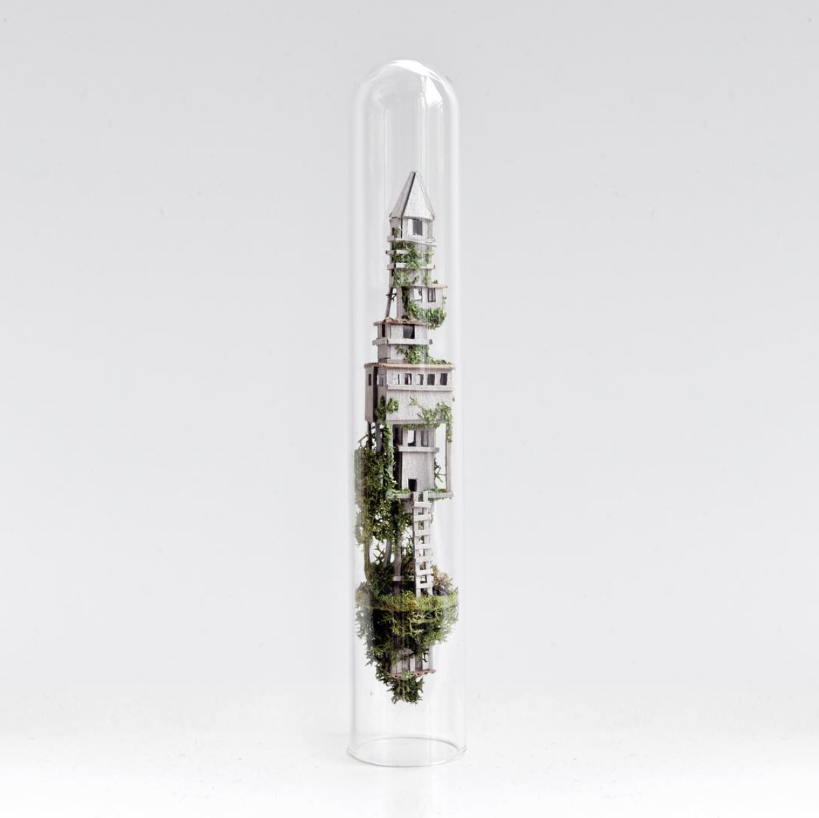 test tube sculpture