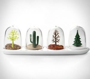 four seasons salt and herb shakers
