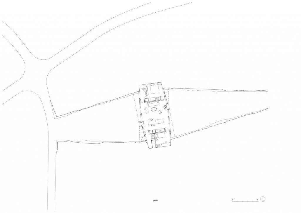 iceland landhouse - plat map plan